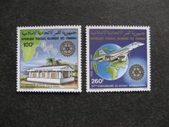 Comores: TB Paire PA N° 180 Et N°181, Neufs XX. - Comores (1975-...)