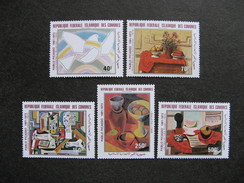 Comores: Série PA N° 184 Au N°188, Neufs XX. GT. - Comores (1975-...)