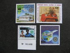 Comores: TB Série PA N° 189 Au N°192, Neufs XX. GT. - Comores (1975-...)