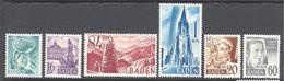 Allemagne Baden: Yvert N° 22/27* - Zone Française