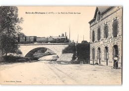 CPA 35 Bain De Bretagne Le Pont Du Point Du Jour Et Le Train - Altri Comuni