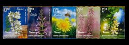 Bosnia - BH Post Sarajevo 2013 Flora, Flowers, Honey Plants, Bees, Mini Sheet MNH - Honeybees