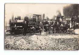 CPA 57 Metz 1912 Carte Photo Le Train - Chemin De Fer Industriel - Metz