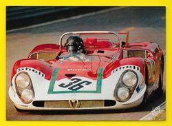 24 Heures Du MANS Andréa De Adamich Sur Alfa Roméo 33 (Yvon Photo DPPI) - Le Mans