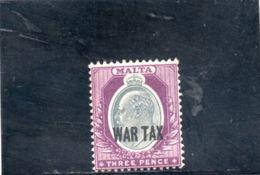 MALTE 1918 * - Malta (...-1964)