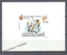 Mauritanie - Mauritania 1980 Yvert A199, Spain 82, Football World Cup - Non Perforated Gloss - Airmail - MNH - Mauretanien (1960-...)