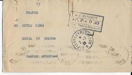 SPM - 1926 - ENVELOPPE Avec CACHET De PORT PAYE 0.30 => VANNES - St.Pierre & Miquelon