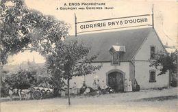 27-GOUPIGNY- PRES DE CONCHES - CIDRERIE PAYS D'OUCHE - A. ENOS. PROPRIETAIRE - France