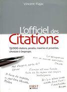 L'officiel Des Citations Par Flajac (ISBN 2754001948 EAN 9782754001946) - Dictionaries