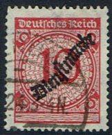 DR Mi NR  101  Dienstmarken , Gestempelt - Gebraucht