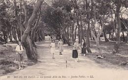 Batz ( 44 Loire Atlantique )     Bourg De Batz - La Grande Allée Du Bois - Batz-sur-Mer (Bourg De B.)