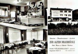 """VÖLKERMARKT : Pension - Gasthof """" Zur Alten Draubrücke """" - Multivues - Photo Véritable - Völkermarkt"""