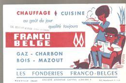 Buvard LES FONDERIES FRANCO-BELGE Chauffage & Cuisine Ets à Flines Les Raches - Electricity & Gas