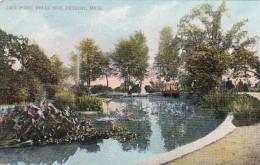 Michigan Detroit Lily Pond Belle Isle