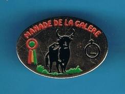 PIN'S //  ** MANADE DE LA GALÈRE ** - Bullfight - Corrida