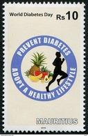 MAURITIUS - 2016 - Journée Mondiale Du Diabète - 1v Neufs // Mnh - Mauritius (1968-...)