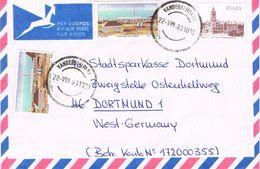 26202. Carta Aerea VANDERBIJLPARK (South Africa) 1983 To Germany - África Del Sur (1961-...)