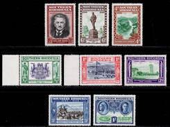 Southern Rhodesia 1940 MH Set SG 53/60 Cat £10 - Südrhodesien (...-1964)