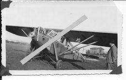 1929 Avion Potez 36 Sur Aérodrome Tourisme Raids 1 Photo Aviation - Aviation