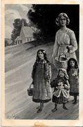 CPA Hansi Signée JJ WALTZ Bazar De La Charité 1908 Non Circulé Jung Colmar - Hansi