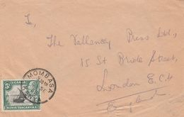 Kenya Lettre Pour Londres 1935 - Kenya, Uganda & Tanganyika