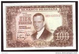 ESPAGNE - 100 Pesetas Du 07 04 1953 NEUF - Pick 145 - [ 3] 1936-1975 : Regency Of Franco