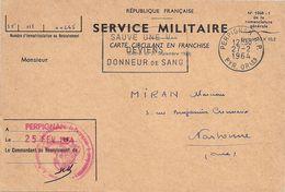 Titre De Libération Définitive Du Service Militaire De Monsieur Miran (cachet Militaire) - Documenti Storici