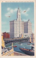 Illinois Chicago Wrigley Buildings South and North Sections Curt