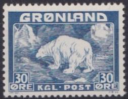 Groenland     .    Yvert   .   7      .     **  .   Postfris   .   /   .  MNH - Ongebruikt