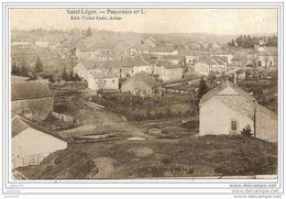 SAINT - LEGER ..-- Panorama . 1910 Vers REIMS ( Mme AGON ) . Voir Verso . - Saint-Léger