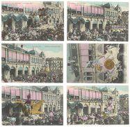 6 Cpa Carnaval De Nice 1906 - Carnaval