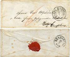 (Lo1034) Altdeutschland Brief  St. K.D.O.P.A. Hamburg N. Elsdorf B. Rendsburg - Covers