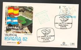 Espana Spagna Mundial De Futbol 1982 SPAGNA - HONDURAS A Valencia FDC Football Soccer Calcio - FDC