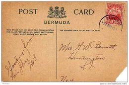26210. Postal  HAMILTON (Bermuda) 1912. Ship, Barco - Bermudas