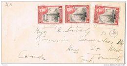 26212. Carta PAGET WEST (Bermudas) 1951 A Canada. Fechador De Hamilton - Bermudas