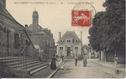 CPA 35 - Beaumont La Ronge - Avenue De La Mairie - Autres Communes