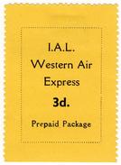 (I.B) IAL Western Air Express : Prepaid Parcel 3d (London - Plymouth) - Non Classés