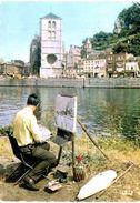 Belgique - Huy Sur Meuse Peintre - Huy