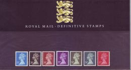 Gran Bretagna 1989 - Elisabetta, Nuovi Valori, 7v MNH** Integri - Nuovi