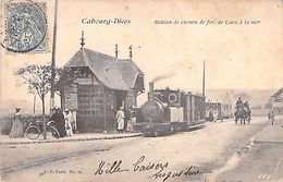 CABOURG DIVES - Station De Chemin De Fer De CAEN à La Mer - France