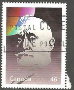 Sc # 1825a Millennium, Humanitarians And PeaceKeepers, Raoul Dandurand Single Used 2000 K917 - 1952-.... Règne D'Elizabeth II
