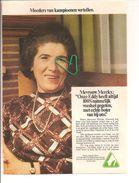 MOEDER VAN EDDY MERCKX MAAKT RECLAME VAN ECHTE BOTER... - Publicités