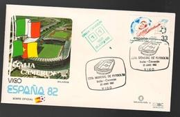 Espana Spagna Mundial De Futbol 1982 ITALIA - CAMERUN A Vigo FDC Football Soccer Calcio - FDC
