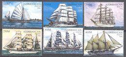 Azerbaidjan: N° 307/312**; MNH; Bateaux; Voiliers; La Serie Compléte Fraicheur Postale - Azerbaïdjan