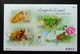 Thailand Stamp SS 2014 Amphibian - Thailand