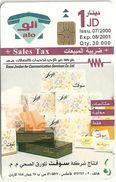 Jordan - Alo - Soft Paper Products - Exp. 08.2001, 30.000ex, Used Rare! - Jordan