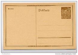 DR  P I  Postkarte Nicht Verausgabt  ** 1923 - Duitsland