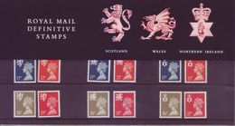 Gran Bretagna 1990 - Regionali, 12v MNH** Integri - 1952-.... (Elisabeth II.)