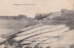 TREGASTEL   ( 22 ) Les Rochers De La Falaise  ( Port Gratuit ) - Trégastel