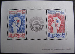 """LOT R1703/553 - """" PHILEXFRANCE 1982 """" - BLOC NEUF** N°8 - Ungebraucht"""